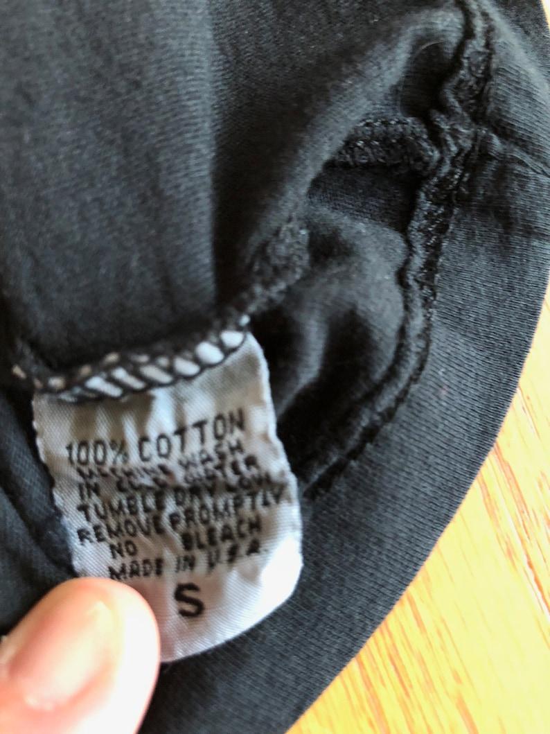 83e14791 EUC Blood is the New Black Brian Lichtenberg RIP YSL T-Shirt sz S