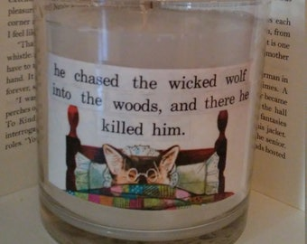Little Red Riding Hood Wolf Candle