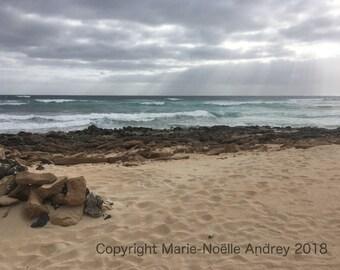 Corralejo Beach Fuerteventura Canary Islands original photo