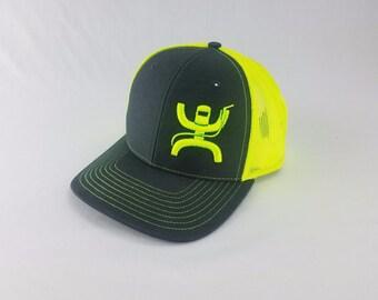new styles a4095 37df8 welder trucker hat, welder, texas welder, cap, neon yellow, welders cap,  welder gift, welder hat, oilfield hat, Richardson 112, 3d, oilfield