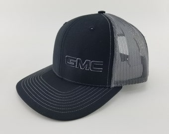 cbc3eafa GMC hat, gmc truck, trucker hat, Richardson 112, gmc sierra, gmc trucker hat,  embroidered hat, 3d embroidered hat, sports gift, for him gift