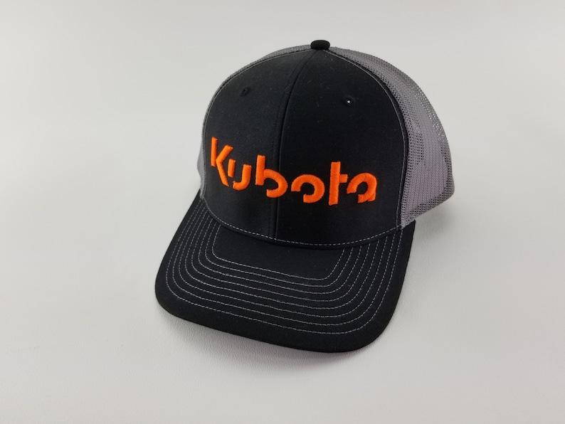 37367d15 Kubota Tractor hats Custom Kubota trucker hat rancher gift   Etsy