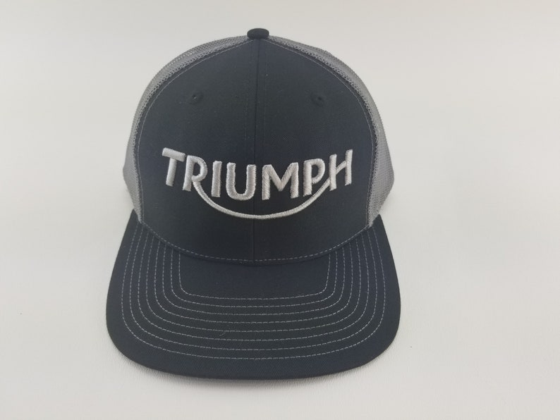 5ef97bf850b Triumph hat Triumph motorcycle hat Triumph motorcycle hat