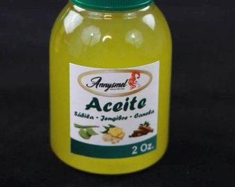 ANNYSMEL Oil Aloe vera-ginger-cinnamon