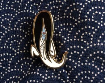 MIYUKI the YUREI yokai enamel pin