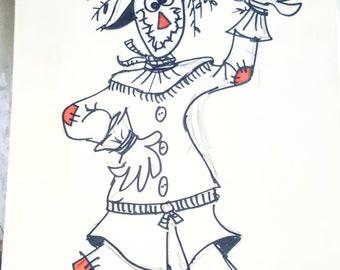 Wizard of oz- scarecrow