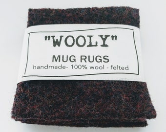 Wool Mug Rugs