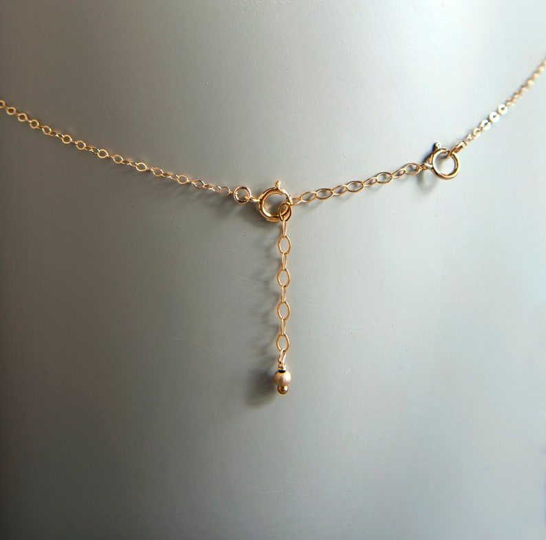 7cm Length New Rose Gold Necklace Extender Chain