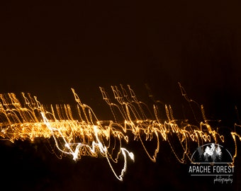 City Lights by ApacheForest / City Photography / Night / Sky / Lights / Dark / Fine Art Photography