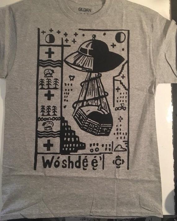 UFO The Rock Tees White S-3XL Men/'s T-shirts