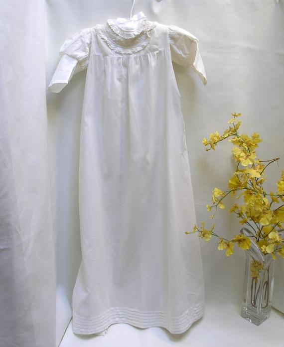 Early Victorian c:1860's  Christening Baptismal Go
