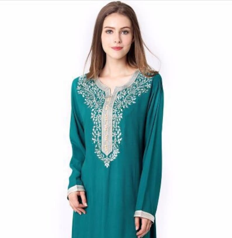 46f44dfa44a Moroccan Kaftan Long sleeve kaftanWinter sale kaftan Dress