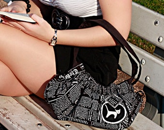 Cat purse / newspaper