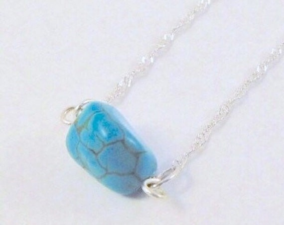 Dainty Turquoise Necklace