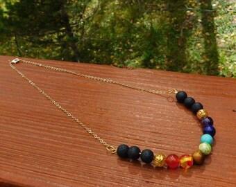 7 Chakra Necklace