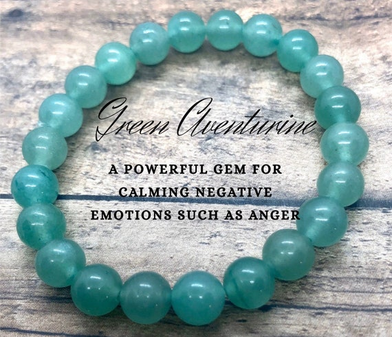 Green Aventurine Bracelet, Heart Chakra Bracelet, Crystal Healing Bracelet, Heart Chakra Yoga Bracelet, Gift for Best Friend, Gift for Her