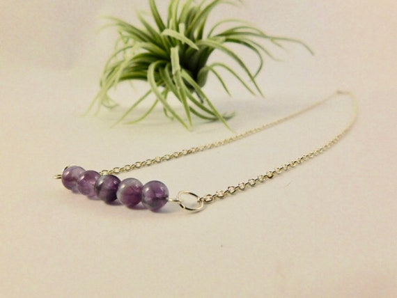 Amethyst Custom Length Necklace