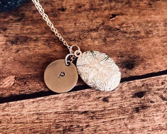 Personalized Initial Aromatherapy Necklace Sterling Silver or Silver Plated Chain Essential Oils Diffuser Jewelry Silver Plated Locket