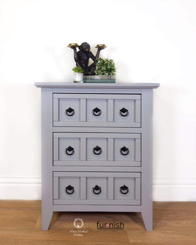 Drawer Unit Side Table Drawers Storage Hallway Furniture Etsy