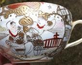 exquisite Satsuma Nippon cup and saucer