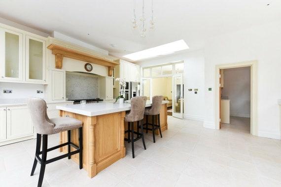 Bespoke Solid Wood Kitchen Cabinets Etsy