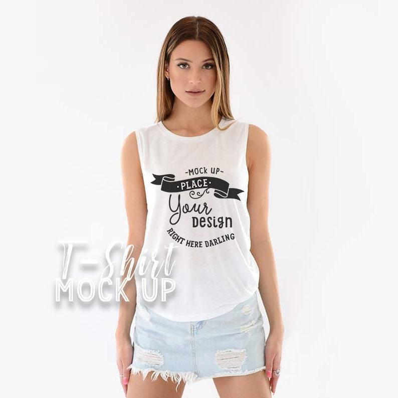 1d70bc52 Bella Canvas Mockup Bella Canvas 8803 White Shirt Mockup | Etsy