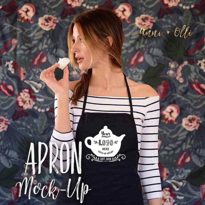 Apron Mockup, Lifestyle Photography, Lifestyle Photos For Bloggers, Apron  For Girls, Shirt Mockup, Model Mockup, Apron Template