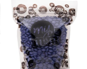 M&M Chocolate Candy - Purple - 2LB Bag