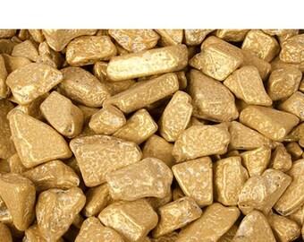 ChocoRock Chocolate Rock Candy - Gold - 1LB Bag