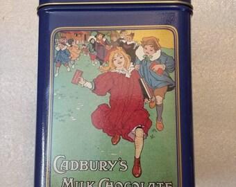 Cadbury Almond Joy Tin Vintage