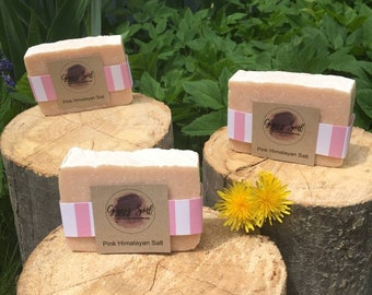 All Natural, Handmade, Pink Himalayan Salt Bar, FREE DELIVERY in Longmont, CO!
