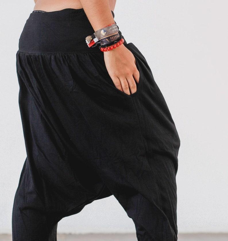 Goa Shorts Psytrance Handmade Thai Shorts Harem Shorts Cotton Balloon Shorts Hippie Aladdin Shorts
