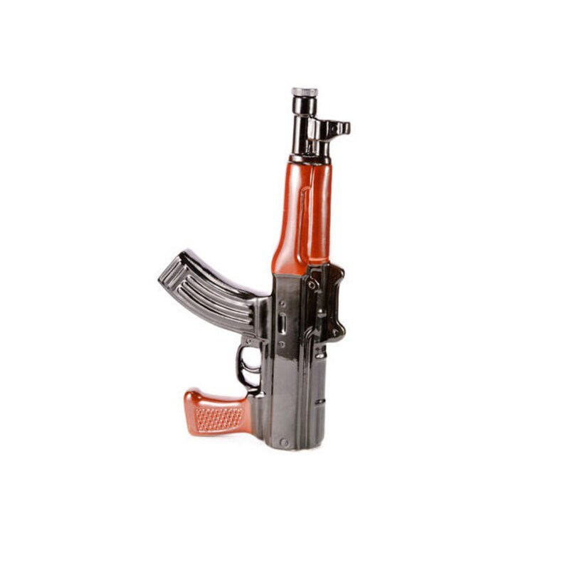 Military Gift DECANTER Bottle like GUN Kalashnikov AK-47, Military Style