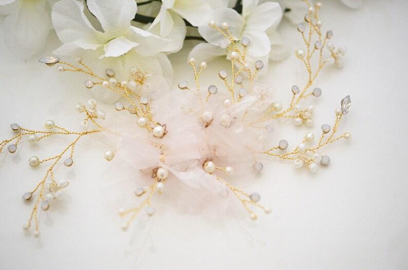 Bridal Comb Crystal Wedding Accessory Wedding Crystal Hair Comb Kali Crystal Comb Rhinestone Comb Gold Bridal Comb