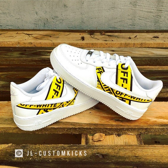 Full Custom | Nike Air Force 1 Off White & Supreme Homer