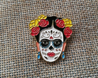 Frida Day of the Day Pin