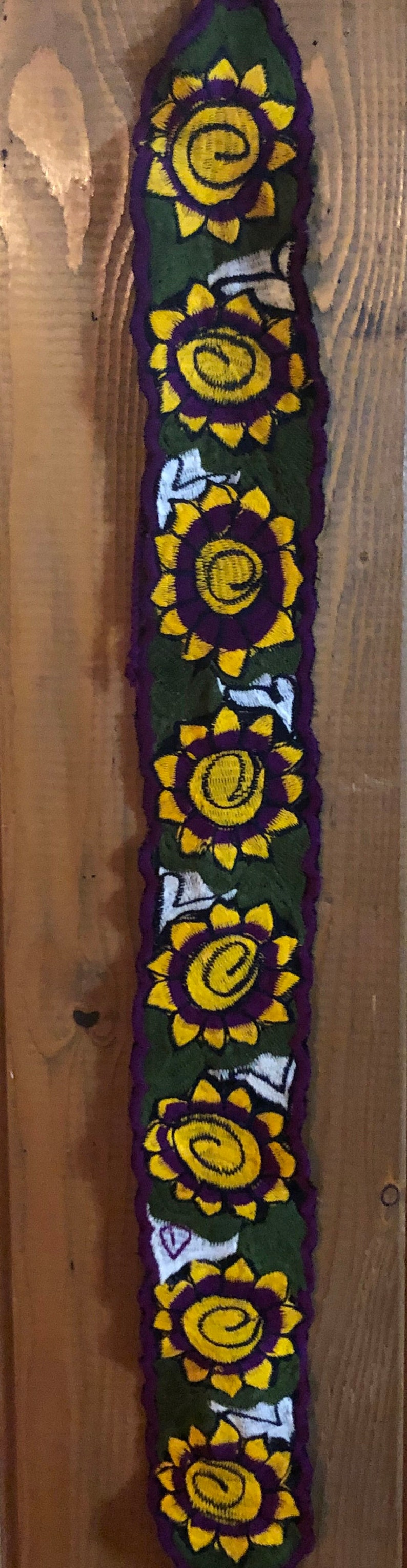 Only one of each style! Free Regular Shipping Mexican Floral Embroidered Belt PLEASE READ details for the measurements of each belt