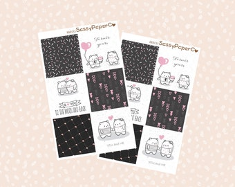 Mini Happy Planner Full Boxes l Cathy Planner Sticker l C03MHP