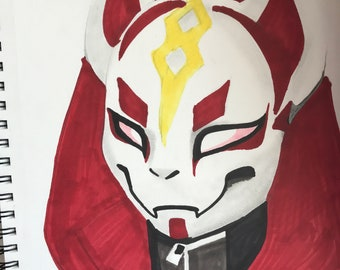 Fortnite Drift Mask Etsy