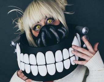dc19796ad3c42 FULL Himiko Toga Cosplay Set (My Hero Academia) - Includes Gas Mask