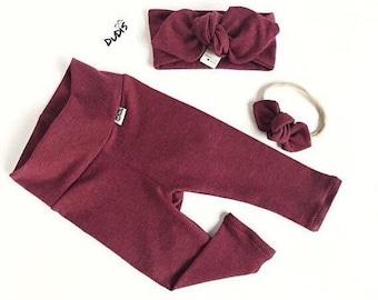 Adorable baby girl leggings baby girl capsules leggings made to order baby girl clothing light purple leggings baby girl capsule
