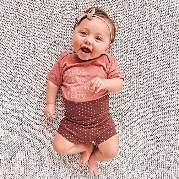 Black and White stripe Bummies High Waisted Shorts Toddler Shorts Baby Shorts Matching Headband Girls Summer Clothing