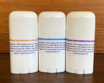 432HzOrgone All Natural Organic Scented Deodorants