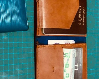 Genuine leather Passport cover, trendy accessories for you Size 14.5x22.5 cm