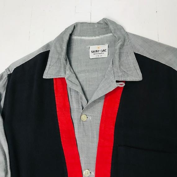 1950s Vintage Small Shirt Jac Rockabilly
