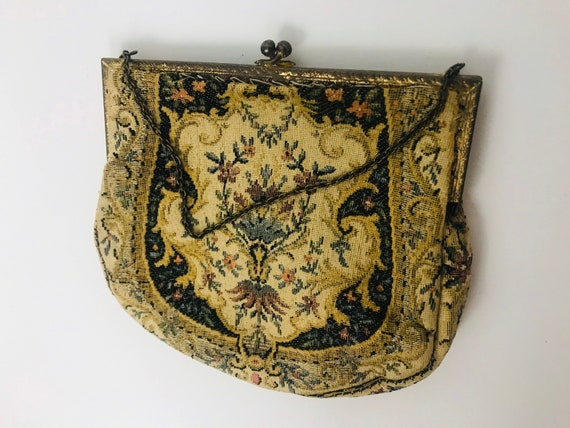 1920s / 1930s Needle Point Purse