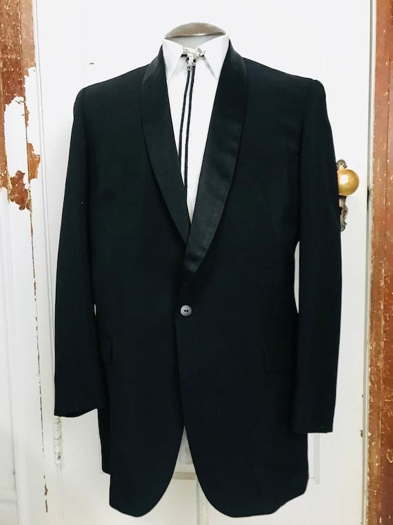 Vintage Medium Black Tuxedo Jacket