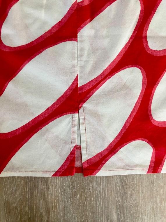 MARIMEKKO Vintage Skirt, Oval print skirt, Marime… - image 4
