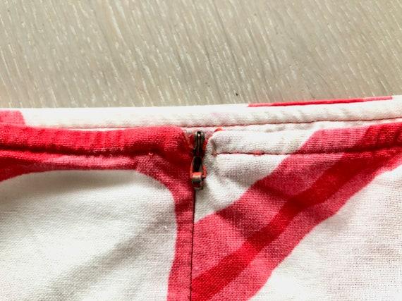 MARIMEKKO Vintage Skirt, Oval print skirt, Marime… - image 8