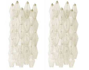 italian midcentury design polyhedral wall scocne